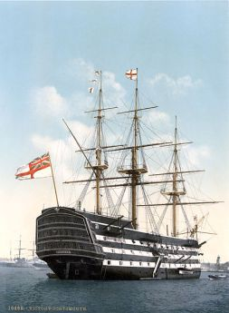 Victory_Portsmouth_um_1900
