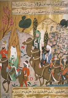 Mahoma y seguidores